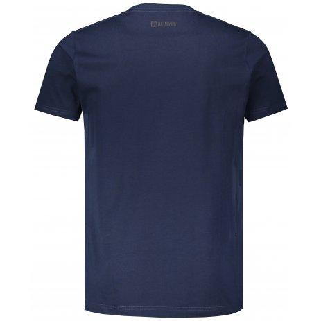 Pánské triko ALTISPORT GIBAR MTSS607 TMAVĚ MODRÁ
