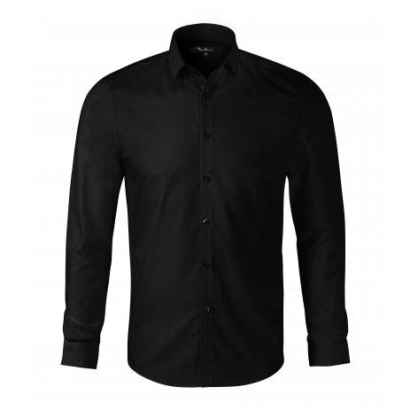 Pánská košile s dlouhým rukávem MALFINI PREMIUM DYNAMIC 262 ČERNÁ