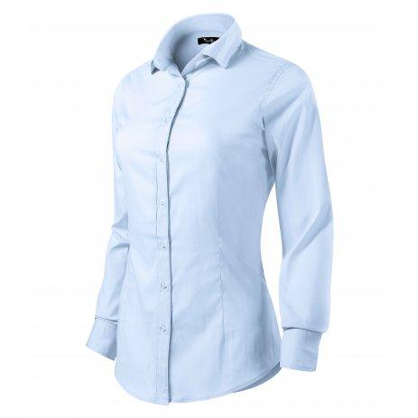 Dámská košile s dlouhým rukávem MALFINI PREMIUM DYNAMIC 263 LIGHT BLUE
