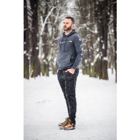 Pánské tepláky ALTISPORT XEBIER MPAS481 ČERNÁ