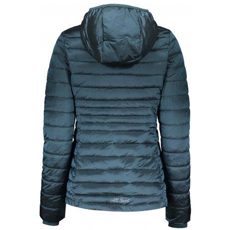 Dámská zimní bunda ALTISPORT BEREZA LJCS432 TYRKYSOVÁ