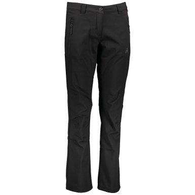 Dámské softshellové kalhoty ALTISPORT DANELA LPAS456 ČERNÁ