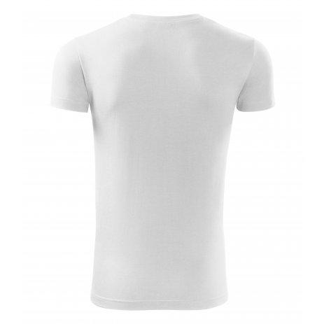 Pánské triko MALFINI VIPER 143 BÍLÁ