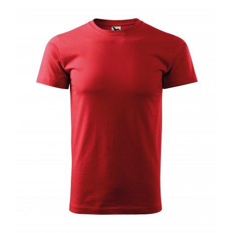 Pánské triko MALFINI BASIC 129 ČERVENÁ