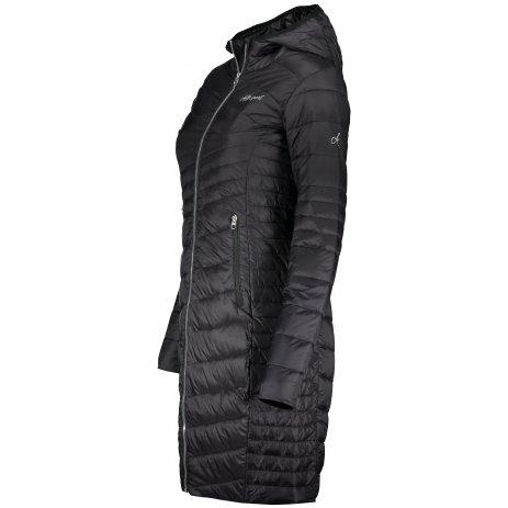 Dámský kabát ALTISPORT GIDERA LJCS431 ČERNÁ