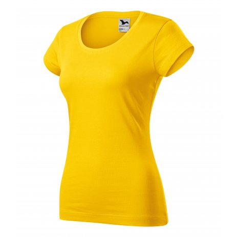 Dámské triko MALFINI VIPER 161 ŽLUTÁ