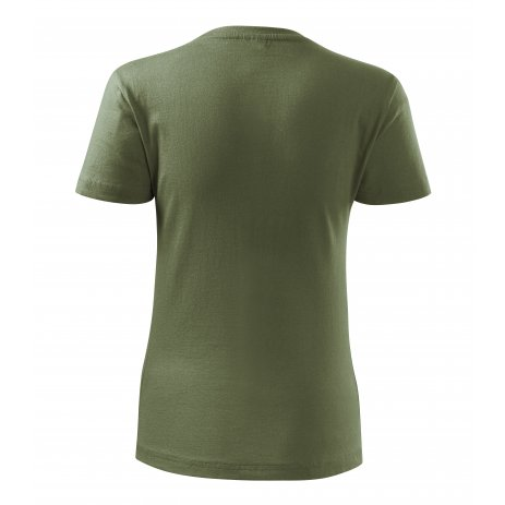 Dámské triko MALFINI BASIC 134 KHAKI