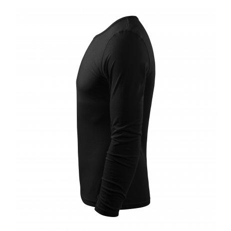 Pánské triko s dlouhým rukávem MALFINI FIT-T LS 119 ČERNÁ