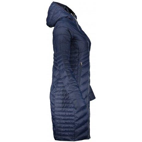 Dámský kabát ALTISPORT GIDERA LJCS431 TMAVĚ MODRÁ