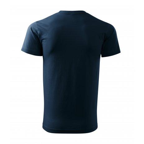 Pánské triko MALFINI HEAVY NEW 137 NÁMOŘNÍ MODRÁ