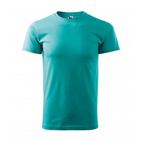 Pánské triko MALFINI BASIC 129 EMERALD