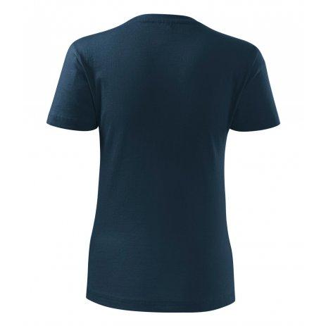Dámské triko MALFINI CLASSIC NEW 133 NÁMOŘNÍ MODRÁ