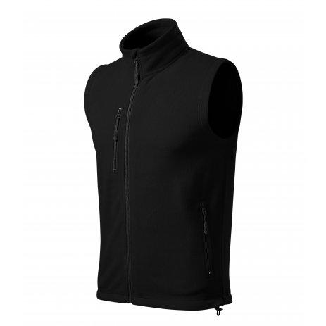 Pánská fleecová vesta MALFINI EXIT 525 ČERNÁ