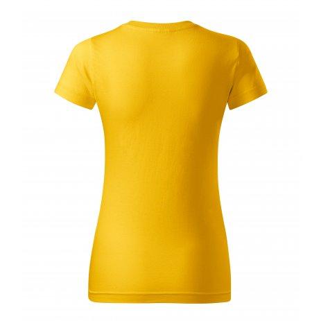 Dámské triko MALFINI BASIC 134 ŽLUTÁ