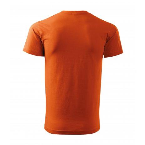 Pánské triko MALFINI HEAVY NEW 137 ORANŽOVÁ