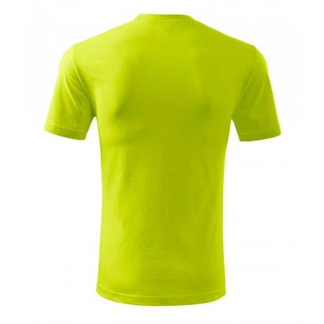 Pánské triko MALFINI CLASSIC NEW 132 LIMETKOVÁ