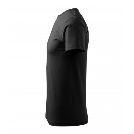 Pánské triko MALFINI HEAVY NEW 137 ČERNÁ
