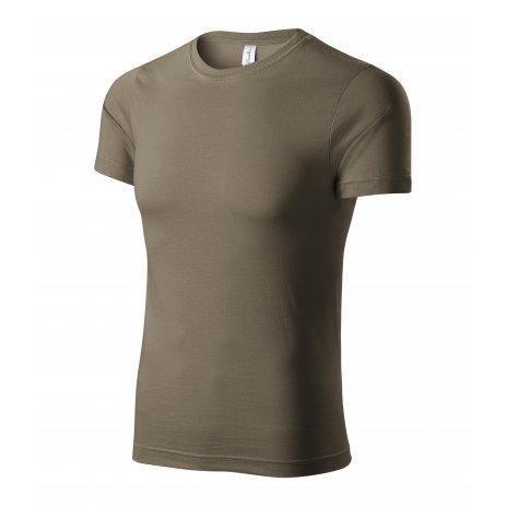 Pánské triko PICCOLIO PAINT P73 ARMY