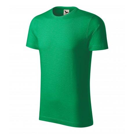 Pánské triko MALFINI NATIVE 173 STŘEDNĚ ZELENÁ