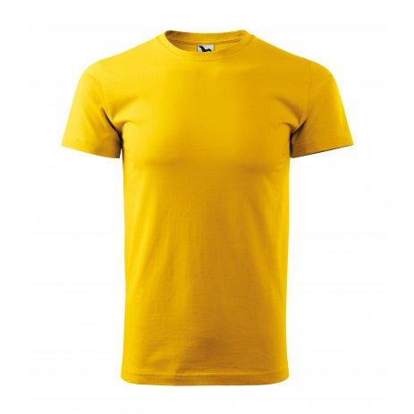 Pánské triko MALFINI BASIC 129 ŽLUTÁ