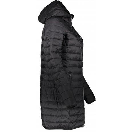 Dámský kabát ALTISPORT AGURNA LCTS134 ČERNÁ