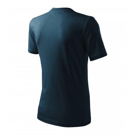 Pánské triko MALFINI CLASSIC 101 NÁMOŘNÍ MODRÁ