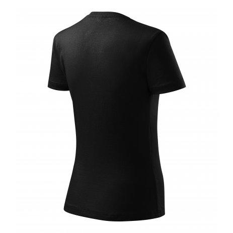 Dámské triko MALFINI CLASSIC NEW 133 ČERNÁ