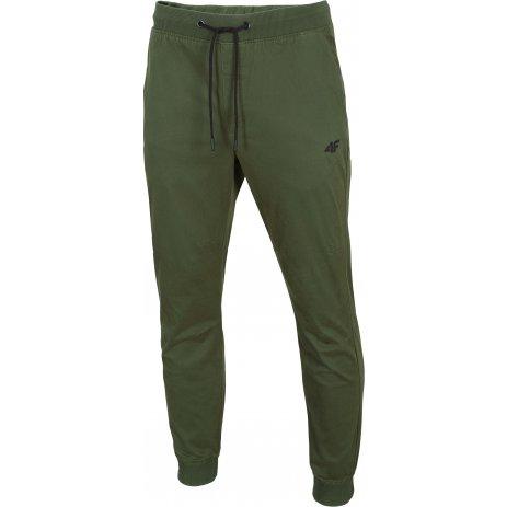 Pánské kalhoty 4F D4Z20-SPMC300 KHAKI
