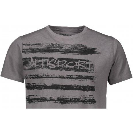 Pánské triko ALTISPORT ESTEV MTSS568 ŠEDÁ