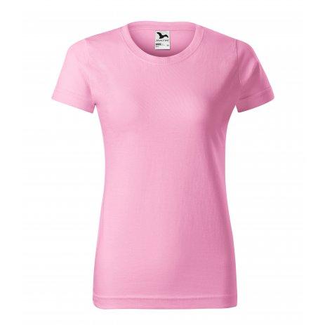 Dámské triko MALFINI BASIC 134 RŮŽOVÁ