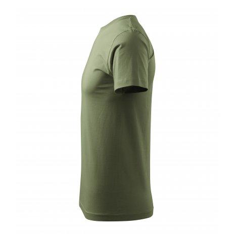 Pánské triko MALFINI HEAVY NEW 137 KHAKI