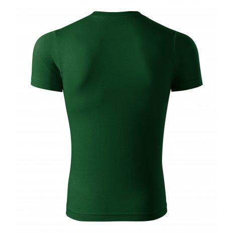 Pánské triko PICCOLIO PAINT P73 LAHVOVĚ ZELENÁ