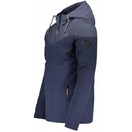 Pánská zimní bunda ALTISPORT LEMET MJCS466 TMAVĚ MODRÁ