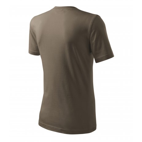 Pánské triko MALFINI CLASSIC NEW 132 ARMY