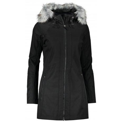 Dámský softshellový kabát ALPINE PRO MASIA LCTS137 ČERNÁ