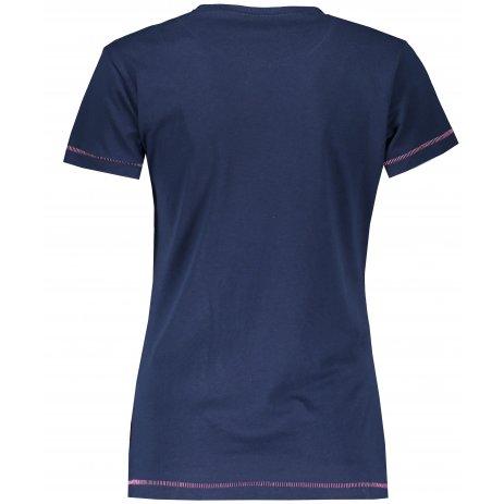 Dámské triko SAM 73 CERINA LTSS681 TMAVĚ MODRÁ