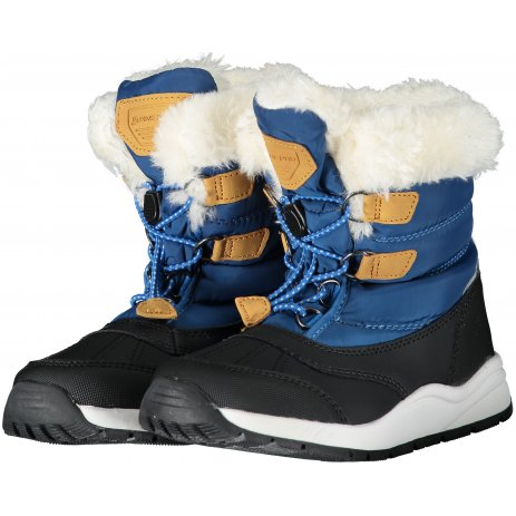 Dětské zimní boty ALPINE PRO AVETO KBTS267 MODRÁ