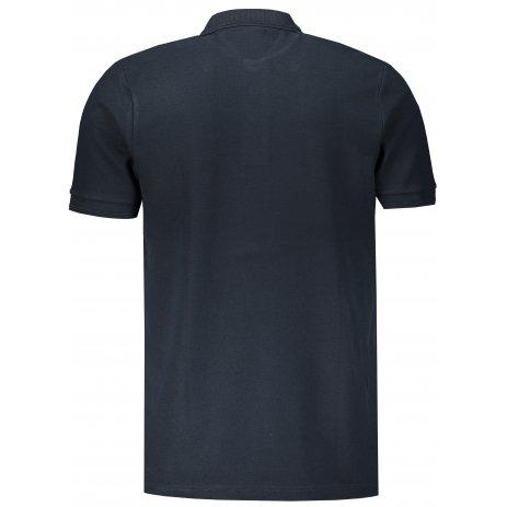 Pánské triko s límečkem ALTISPORT ALM031203 NÁMOŘNÍ MODRÁ