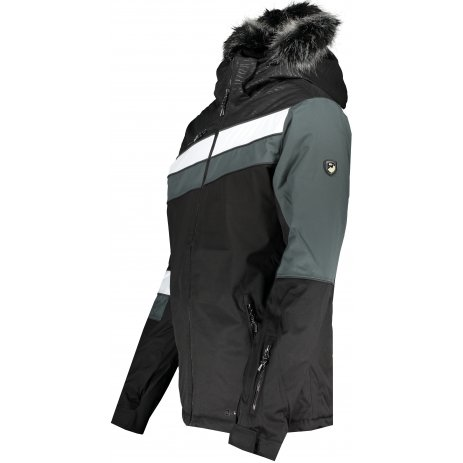 Pánská lyžařská bunda ALPINE PRO DOR 3 MJCS447 ČERNÁ