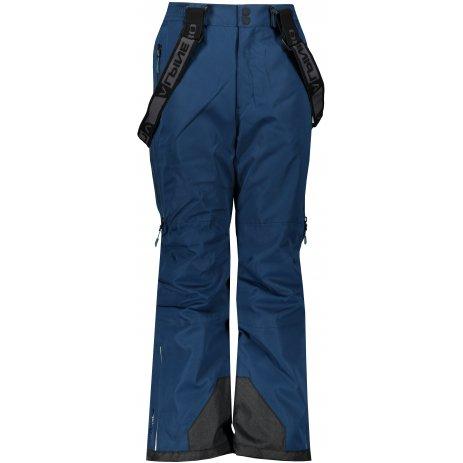 Dětské lyžařské kalhoty ALPINE PRO NUDDO 5 KPAS202 MODRÁ
