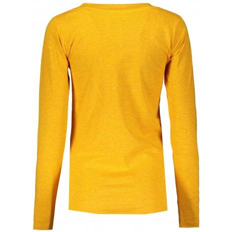 Dámské triko ALPINE PRO CLAUDA LTSS685 ŽLUTÁ