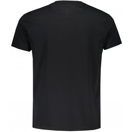Pánské triko PEAK ROUND NECK T SHIRT F601541 ČERNÁ