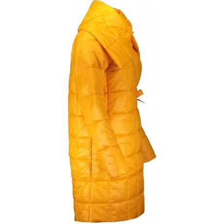 Dámský kabát ALPINE PRO IKMA LCTS132 ŽLUTÁ