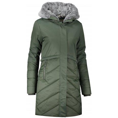 Dámský zimní kabát ALPINE PRO TESSA 4 LCTS128 ZELENÁ