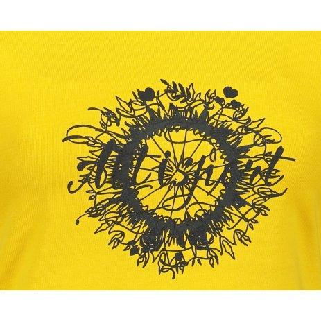 Dámské triko ALTISPORT ALW025F61 ŽLUTÁ