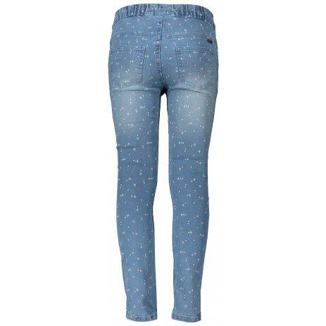 Dětské džíny ALPINE PRO ALFO KPAT220 SVĚTLE MODRÁ