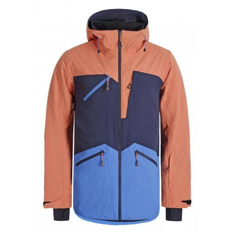 Pánská lyžařská bunda ICEPEAK CALAMUS TMAVĚ MODRÁ