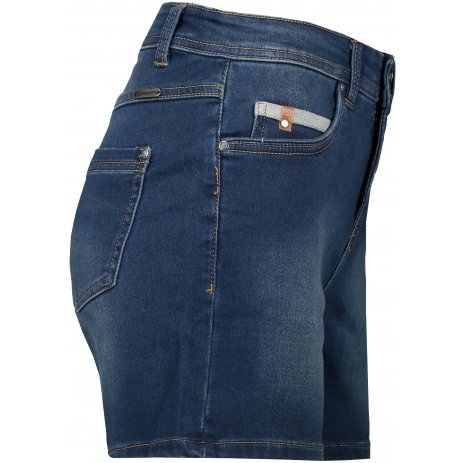 Dámské šortky ALPINE PRO THASA LPAT484 TMAVĚ MODRÁ