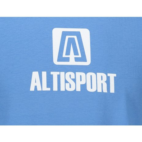 Pánské triko ALTISPORT ALM006131 AZUROVĚ MODRÁ