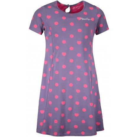 Dívčí šaty ALPINE PRO ZIADO KSKT090 FIALOVÁ